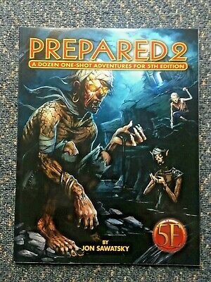 AU30 • Buy Prepared 2: 12 One-Shot Adventures For 5th Edition - Dungeons & Dragons D&D 5e