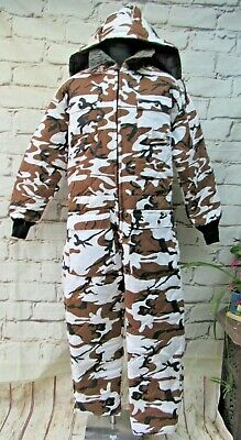 Cabela's Reversible Snow/Bark Camo Hunting Sniper Suit Size Large • 75£