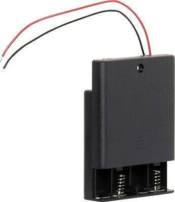 AU7.99 • Buy 4 X AA Battery Holder With On/Off Switch