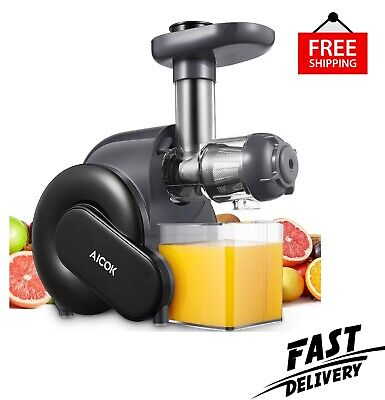 £112.80 • Buy Juicer Machine, Aicok Slow Masticating Juicer With Reverse Function, Cold Press