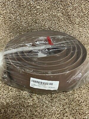 D-2 Rubber Duct Cord Cover - Length: 10FT - Color: Brown Cable Protector • 26.46£