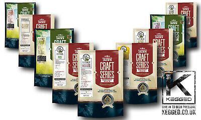 Mangrove Jacks Craft Series 40 Pint Home Brew Beer And Cider Kit Pouches • 18.99£