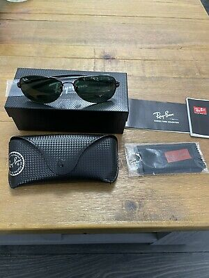 AU143.09 • Buy Ray-Ban Sunglasses Tech Carbon Fibre Edition Mens New