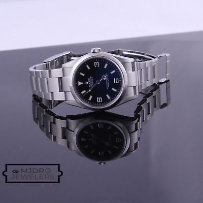 $ CDN9691.88 • Buy Rolex Explorer Stainless Steel Oyster Automatic Black Dial Men's Watch 114270