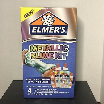 AU23.83 • Buy Elmers Glue Metallic Slime Kit - Everything You Need To Make Slime FAST SHIPPING
