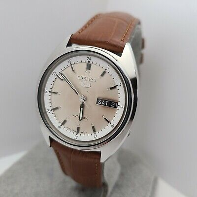 $ CDN132.23 • Buy Vintage Seiko 6309-8240 Men's Automatic Watch Day/date 1980