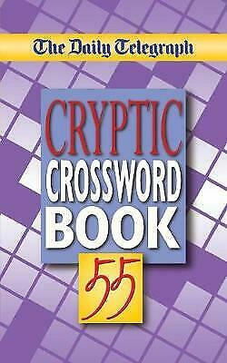 £6.30 • Buy The Daily Telegraph Cryptic Crossword Book 55 SHELF WORN (Paperback 2005)