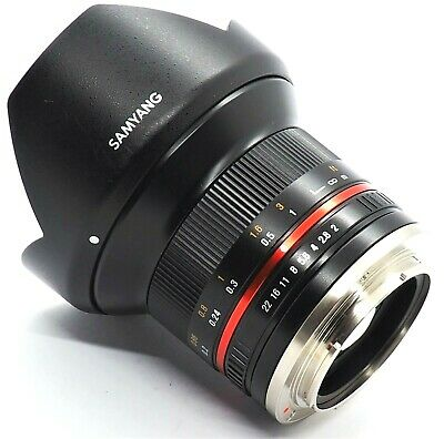 AU299 • Buy AS NEW Samyang 12mm F2.0 NCS CS Sony E-Mount APS-C Wide Angle Lens + Hoya Filter