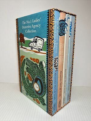 AU39 • Buy The No. 1 Ladies' Detective Agency Collection Lot 4 Books Alexander McCall Smith