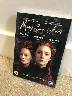 Mary Queen Of Scots DVD (2018) - New, Sealed + Free Postage • 4.99£