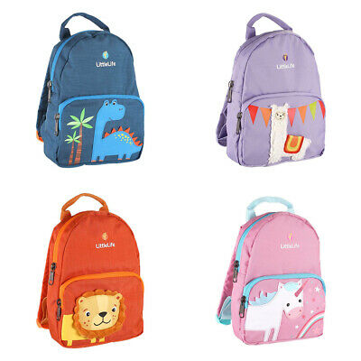 £16.99 • Buy LittleLife Friendly Faces Toddler Backpack With Rein