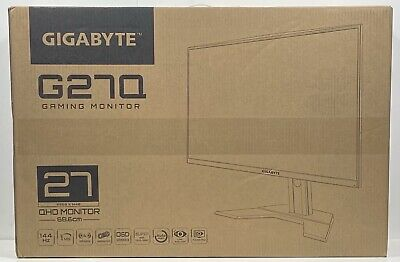 AU354.16 • Buy GIGABYTE G27Q 27  144Hz 1440P Gaming Monitor, 2560 X 1440 IPS Display, 1ms MPRT