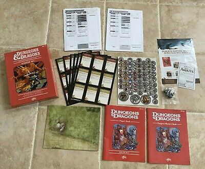 AU37.34 • Buy Dungeons And Dragons Starter Set Game Fantasy Monsters 2011 4th Edition Complete