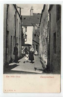 THE WIDE CLOSE, CAMPBELTOWN: Argyll Postcard (C61588) • 9.95£