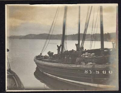 AU17.74 • Buy Vintage Photograph Of A Fishing Boat At Stornoway?, Isle Of Lewis (C61545)