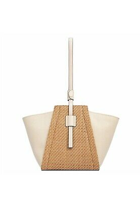 AU90 • Buy Oroton Danielle Canvas Bucket RRP 229