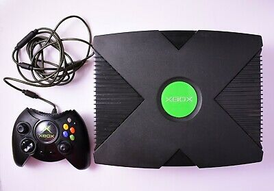 AU179.99 • Buy Microsoft Original Xbox Console With Controller, Cables, 8 Games