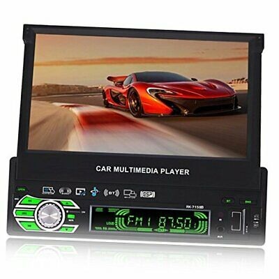AU263.88 • Buy 7-inch Single DIN In-Dash GPS Navigation For Car With Rear View Camera,Support