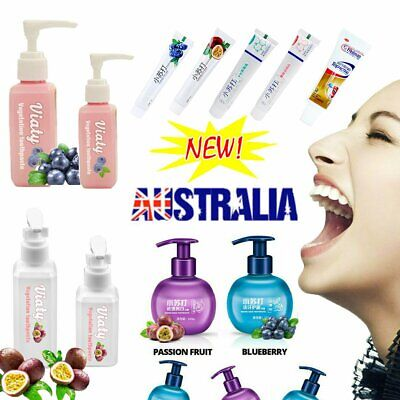 AU10.21 • Buy Instant Clean Intensive Stain Removal Whitening Toothpaste Fight Bleeding Gums#T