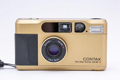 $ CDN2011.11 • Buy Contax T2 Gold 35mm Point & Shoot Film Camera 【Maintenance Completed Item】JAPAN