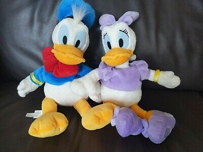 Donald And Daisy Duck Soft Toys • 18£