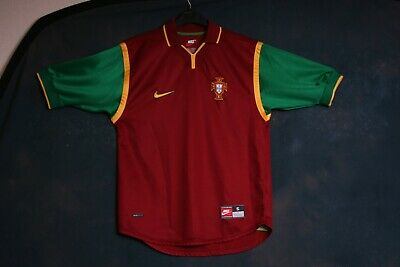 £99.99 • Buy Portugal Small 1998 1999 Home Football Shirt Jersey Top