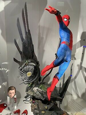 $ CDN847.76 • Buy In Stock! Hot Toys QS015B HOMECOMING 1/4 SPIDER-MAN (Deluxe Set Special Edition)
