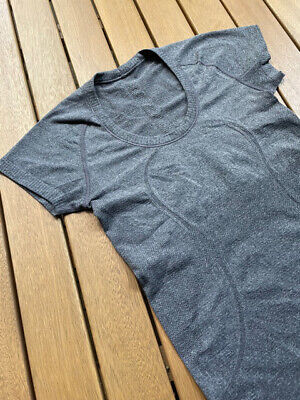 $ CDN8.55 • Buy Lululemon Swiftly Tech Short Sleeve Top, Grey, Size 4