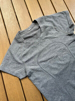 $ CDN8.55 • Buy Lululemon Swiftly Tech Short Sleeve Top, Light Grey, Size 4