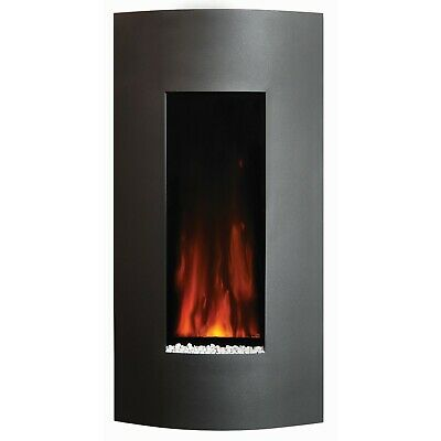£399 • Buy Studio 22 Wall Mounted Electric Fire With Verve Graphite Steel Front