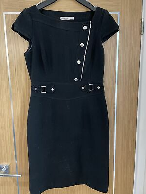 AU8.94 • Buy Karen Millen Black Dress Size 14