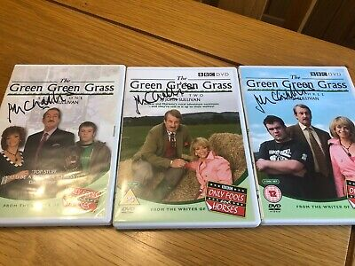 £15 • Buy The Green Green Grass Series 1, 2 & 3 DVDs ALL Signed By John Challis - NEW