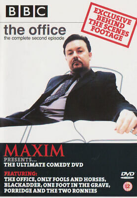 £2.50 • Buy BBC Office The Compete Second Episode Maxim Ultimate Comedy DVD New And Sealed