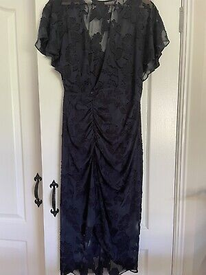 AU69 • Buy Forever New NWT RRP$159.99 Womens Size 10 Navy Blue Dress