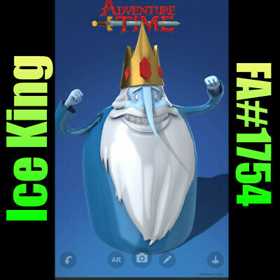 $140 • Buy Ice King VeVe NFT Rare FA#1754 Adventure Time China Exclusive