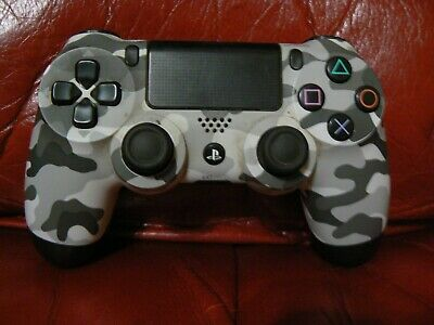 AU54.34 • Buy Official Sony PS4 Limited Edition Urban Camo Controller DualShock Wireless
