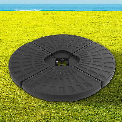 AU70.95 • Buy Weather Resistant Stand Base For Patio Umbrella Sturdy 4 Plate Construction