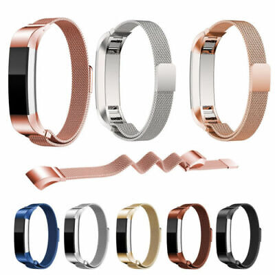 AU10.29 • Buy Milanese Stainless Steel Watch Band For Fitbit Alta/HR Bracelets Wrist Strap X