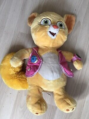 £22 • Buy Disney Store Stamped Special Agent Oso Orange Dotty Cat Soft Toy 17 Inches