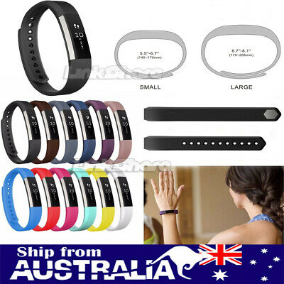 AU4.99 • Buy AU New Replacement Silicone Watch Band Wrist Strap For Fitbit Alta Tracker L/S X