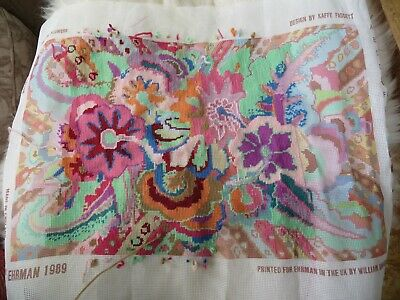 Kaffe Fassett Ehrman Tapestry Kit Tropical Flowers To Complete Wools Included • 25£