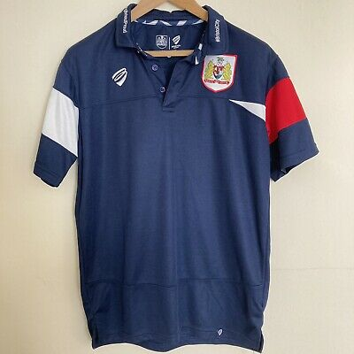 £14.99 • Buy Bristol City FC Football Training Shirt Top With Collar Men's Size Large