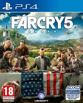 AU18.65 • Buy Far Cry 5 Farcry 5 For Playstation 4 PS4 - UK - Grade A - FAST DISPATCH