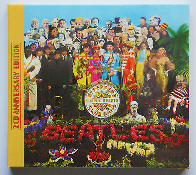 £9 • Buy The Beatles: Sgt. Peppers Lonely Hearts Club Band - 2 CD Anniversary Edition