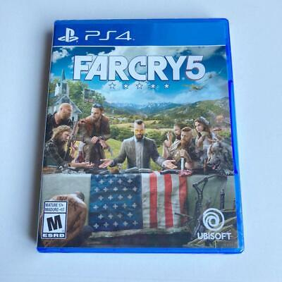 AU169.61 • Buy Ps4 - Far Cry 5 - New Sealed *