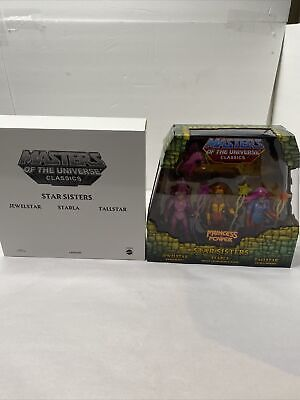 $99.99 • Buy Masters Of The Universe Classics Star Sisters 3 Pack With Mailer - MOTUC MOTU