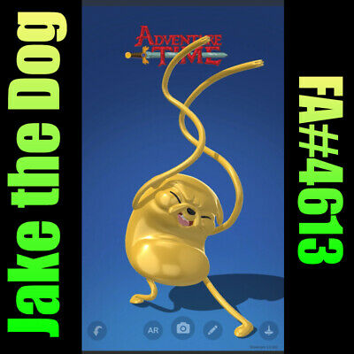 $55 • Buy Jake The Dog VeVe NFT Uncommon FA#4613 Adventure Time China Exclusive