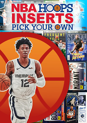 AU10 • Buy 2020/21 NBA Hoops - Inserts - Pick Your Own - Buy 3 Get 1 Free