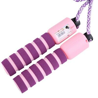 £8.99 • Buy Nuoshen Children Kids Purple Pink Adjustable Jump Skipping Rope With Counter