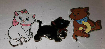 $ CDN119.28 • Buy The Aristocats Pouty Pals Toulouse Berlioz Marie Set Of 3 Disney Fantasy Pin
